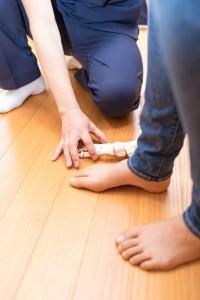 足の痛みの整体