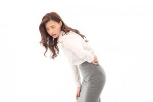 女性の腰痛