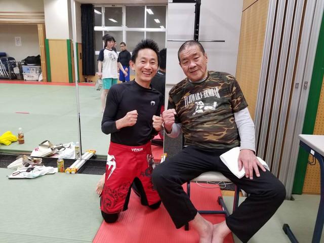 浜田先生と藤原組長