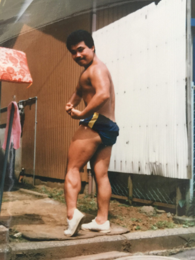 30年前若き日の肘井先生